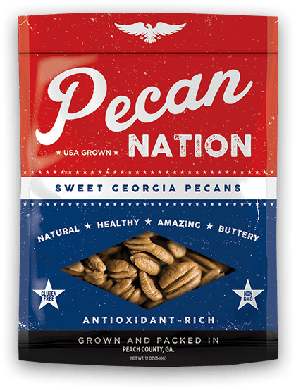 Large image of Pecan Nation bag of pecans